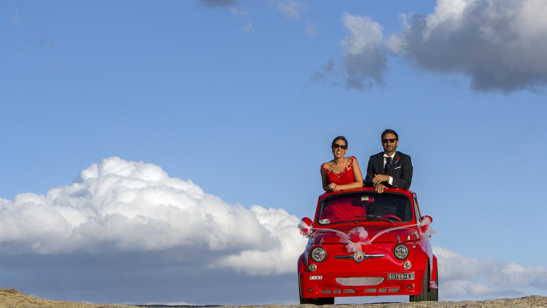 Sposi in 500 a Bominaco