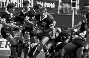 Finale scudetto rugby '94: Vim Visser.