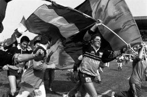Bandiera e Carlo Caione