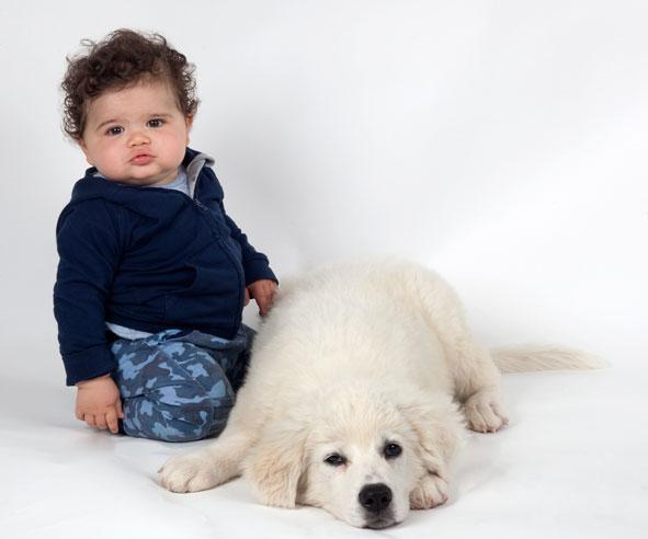 Azumi e cucciolo